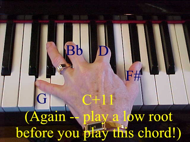 Piano piano chords c7 : Atlerations -- altered chords