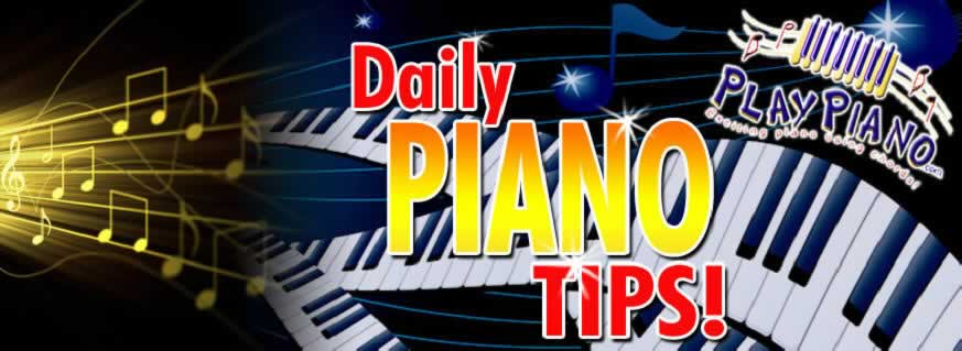 Play piano using chords