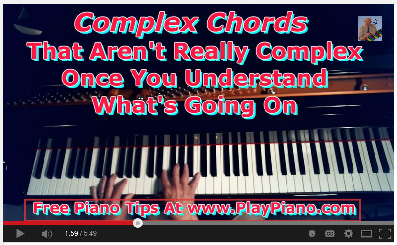 Confusing Chords What Are They Jazz Chords Extended Chords
