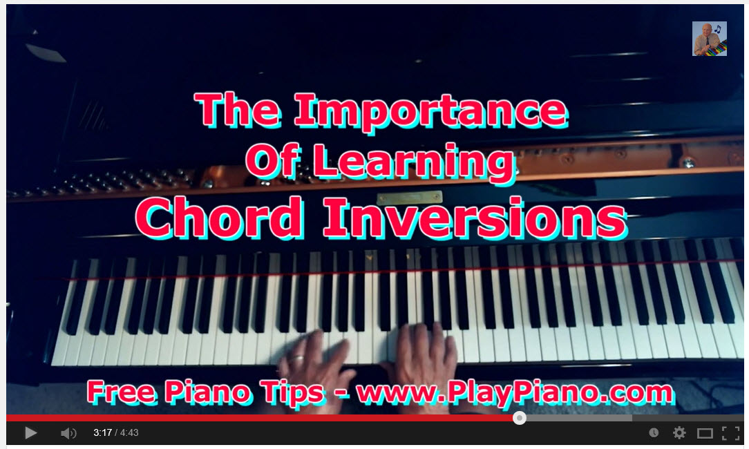 Chord Inversions - Chords Standing On Their Heads