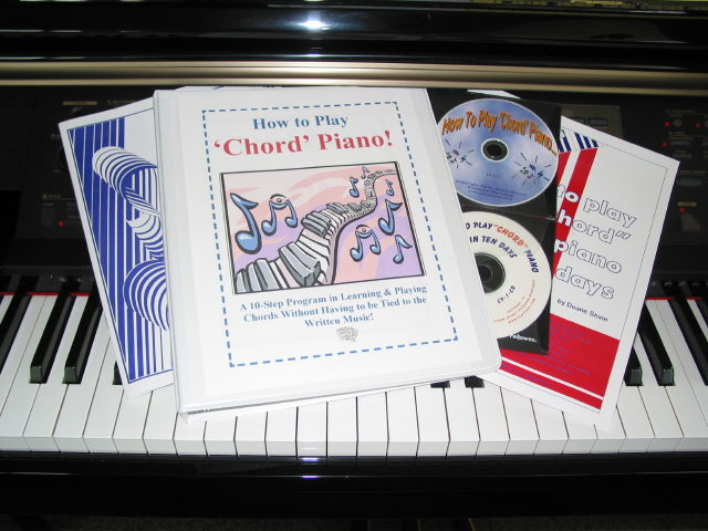 Chord Binder with books & discs- good