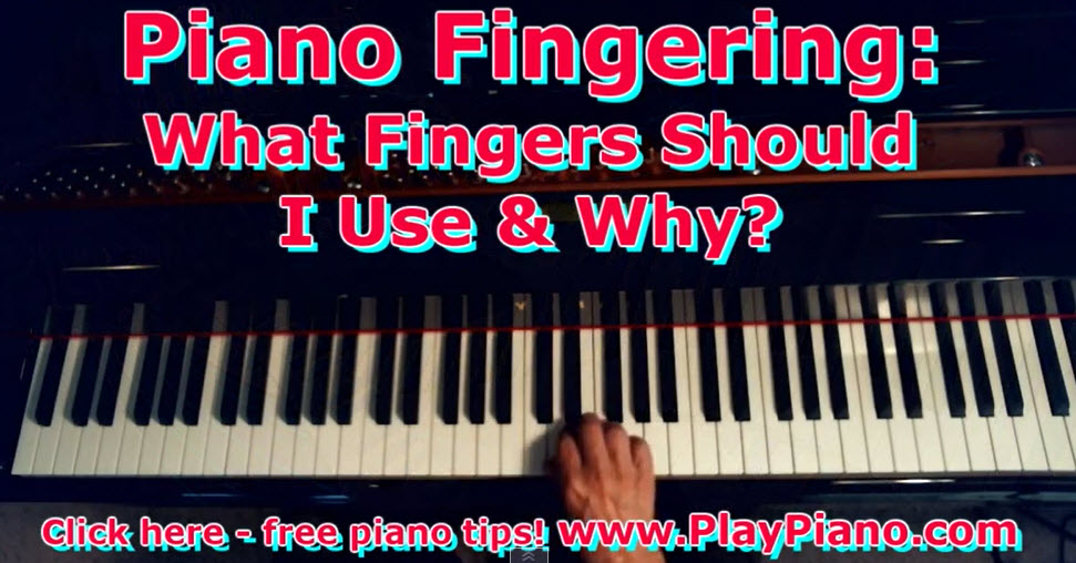 Are There Rules About Piano Fingering Piano Lessons For Adults
