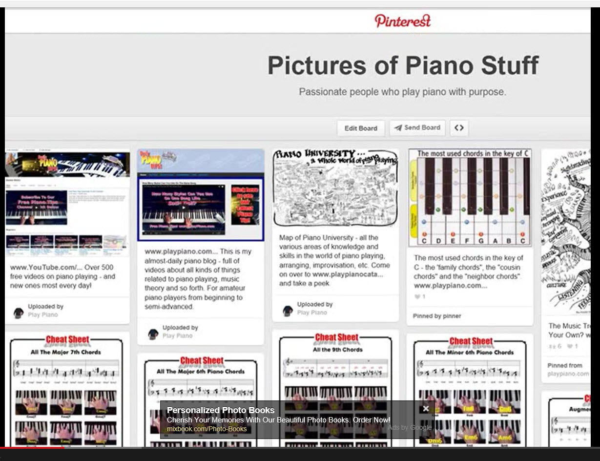 Are There Piano Programs On Pinterest? Yep.