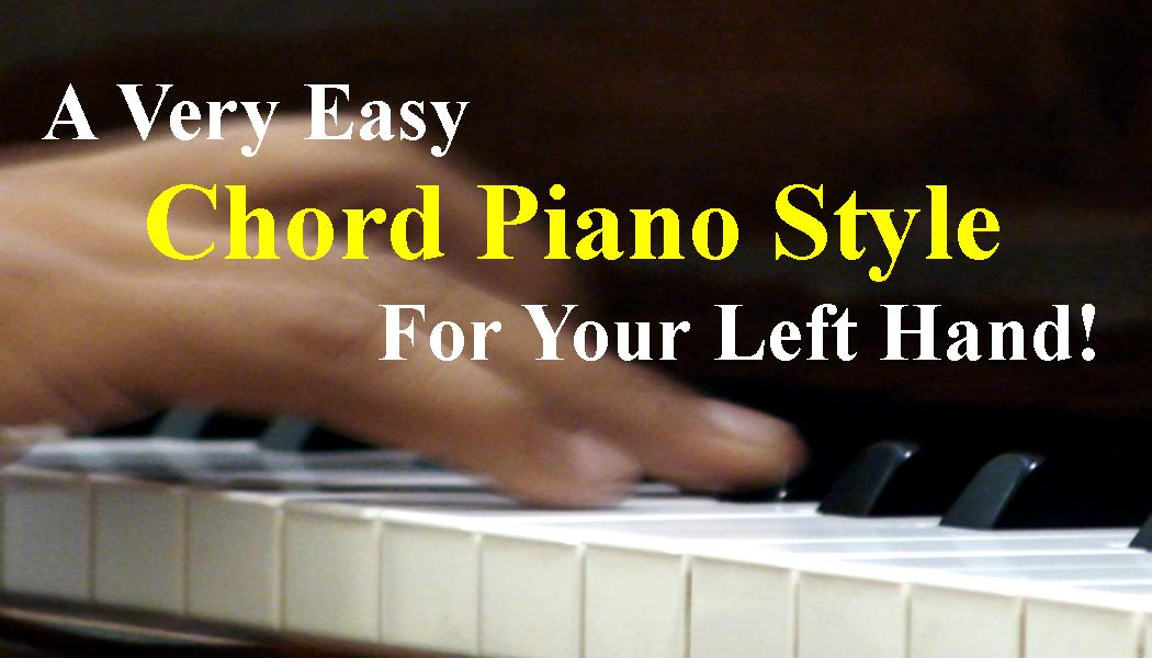Here's An Easy Piano Left Hand Pattern