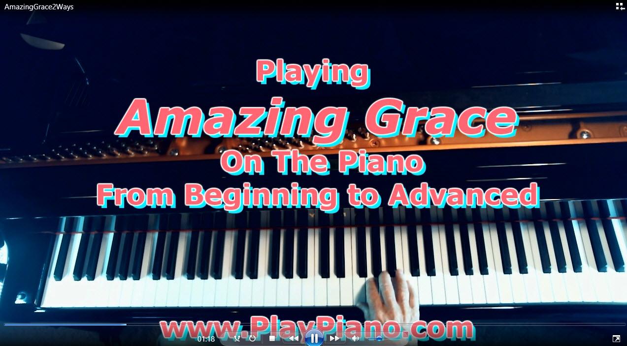 Amazing grace piano arrangments for beginner to advanced piano amazing grace piano arrangments for beginner to advanced hexwebz Choice Image