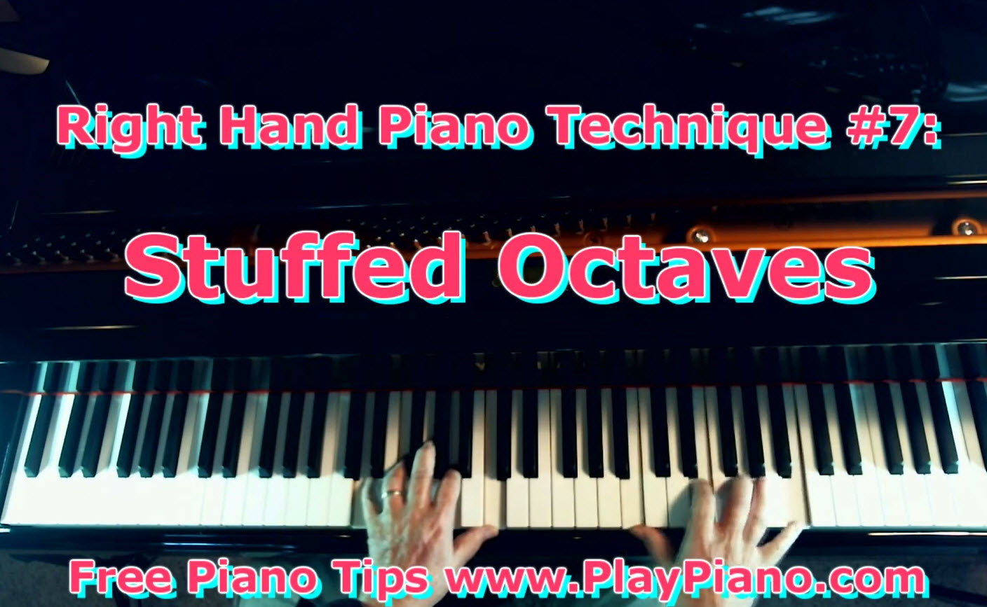 The octave chord right hand piano technique piano lessons for adults the octave chord right hand piano technique hexwebz Choice Image