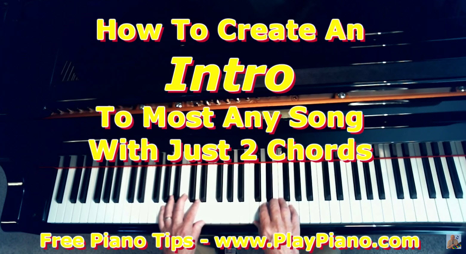 Create a piano intro to a song with just 2 chords piano lessons create a piano intro to a song with just 2 chords hexwebz Choice Image