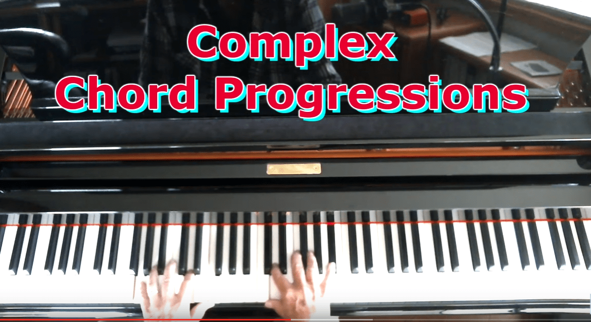 Complex Piano Chord Progressions Piano Lessons For Adults